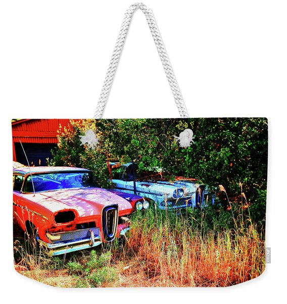 A Fords Dream Weekender Tote Bag