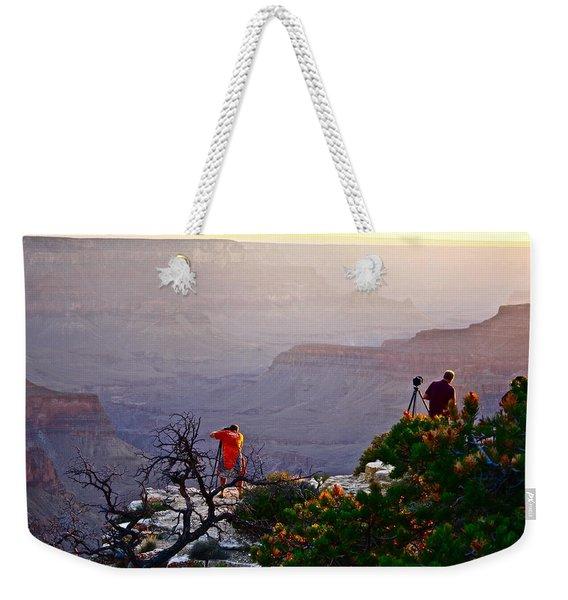 A Grand Meeting Place Weekender Tote Bag