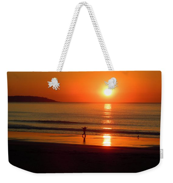 A New Day Weekender Tote Bag
