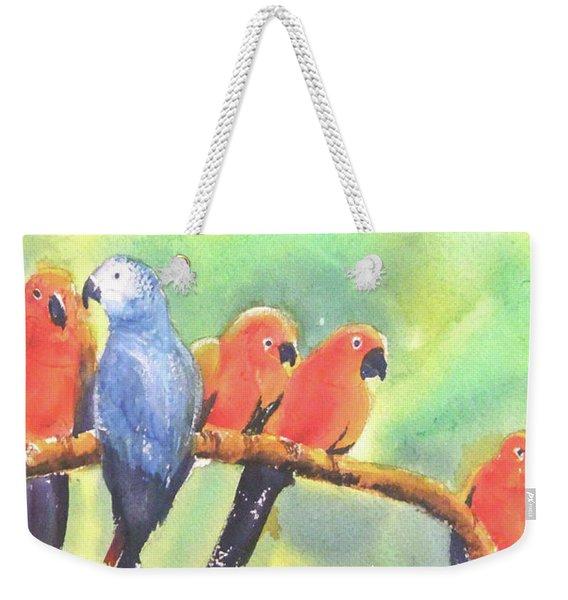 A New Slant On Life Weekender Tote Bag