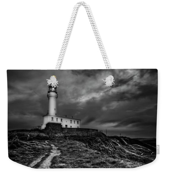 A Path To Enlightment Bw Weekender Tote Bag