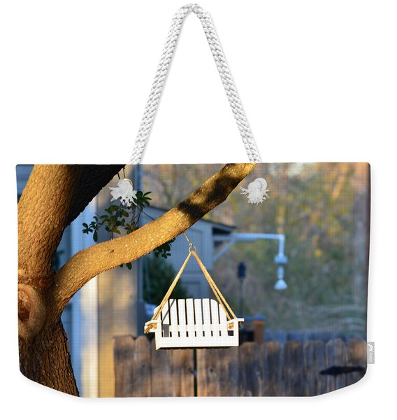 A Place To Perch Weekender Tote Bag