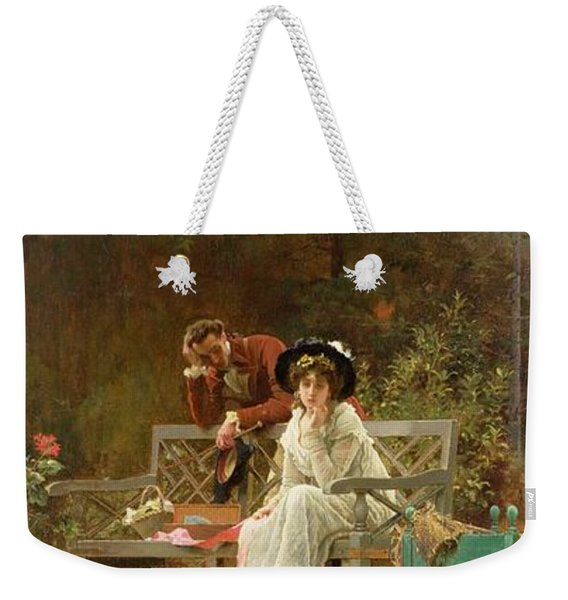 A Prior Attachment Weekender Tote Bag