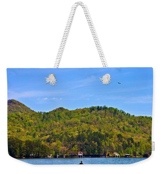 A Quiet Day Weekender Tote Bag