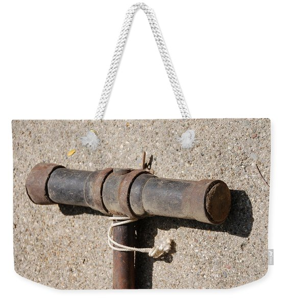 A Really Old Hammer Weekender Tote Bag