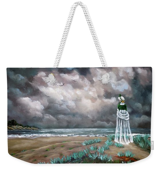 A Stroll Upon The Dunes Weekender Tote Bag