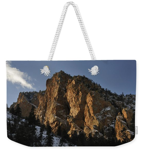 Weekender Tote Bag featuring the photograph Above Red River I by Ron Cline