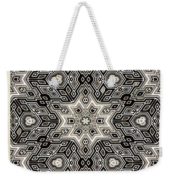 Abstract Cubes Weekender Tote Bag