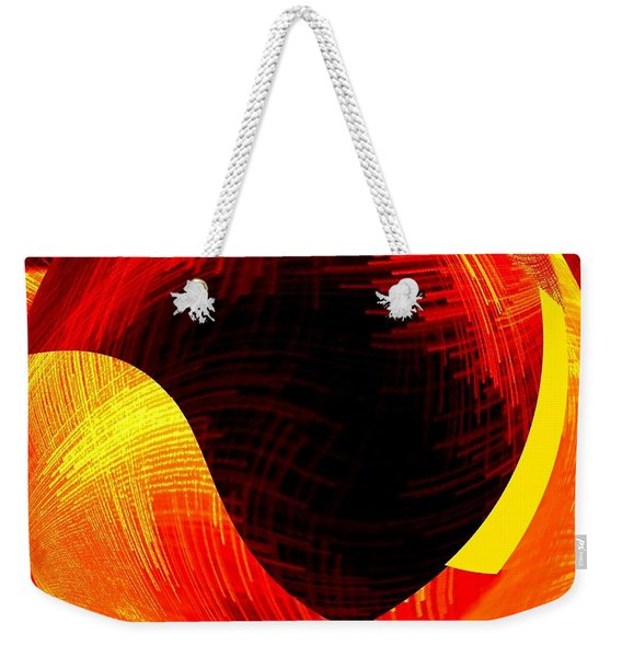 Abstract Fusion 40 Weekender Tote Bag