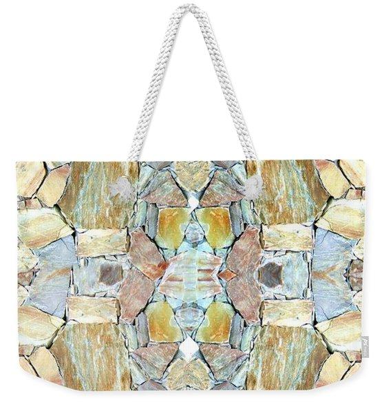 Abstract Fusion 67 Weekender Tote Bag