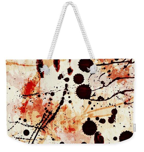 Abstract Grunge Background Weekender Tote Bag