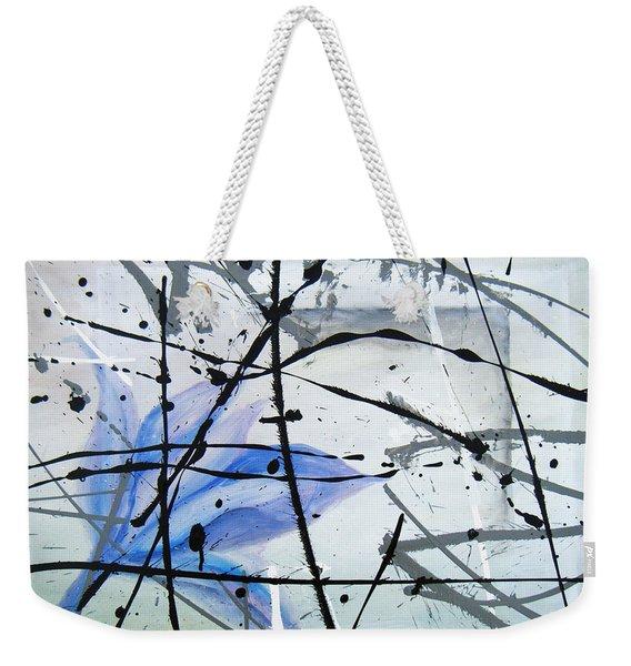 Abstract Impressionist Weekender Tote Bag