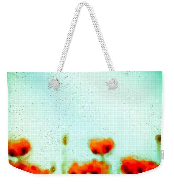 Abstract Poppies Weekender Tote Bag