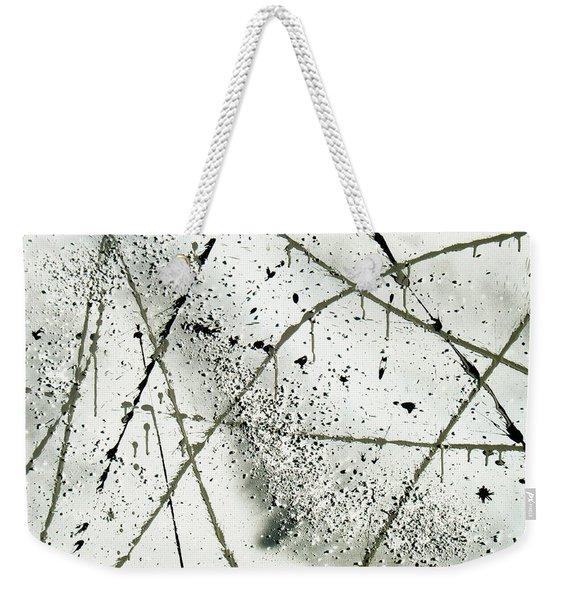 Abstract Remnants Of The Big Bang Weekender Tote Bag