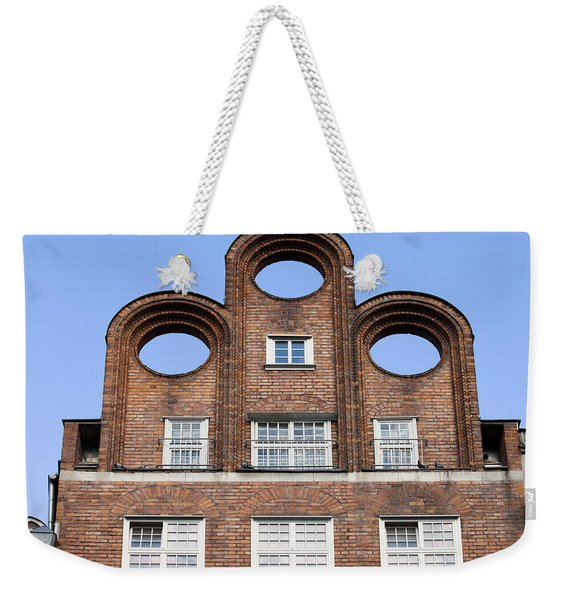 Abstract Shape Architectural Detail Weekender Tote Bag