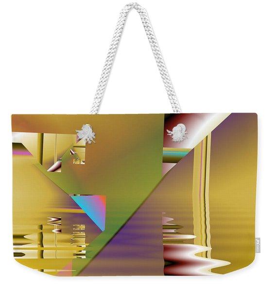 Abstract Waters Weekender Tote Bag
