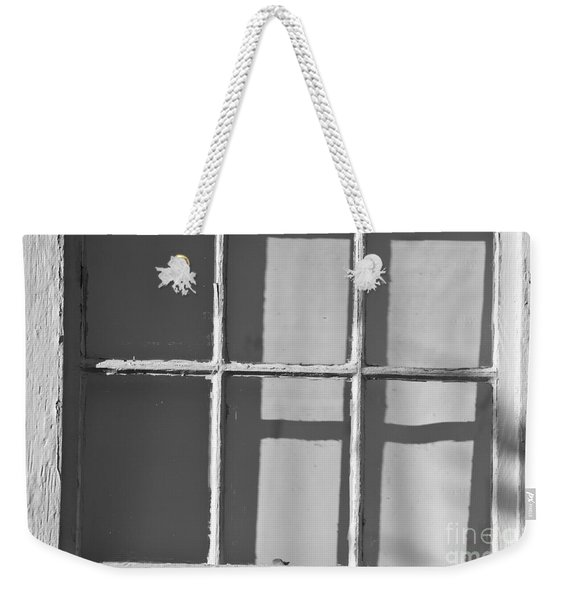 Abstract Window In Light And Shadow Weekender Tote Bag