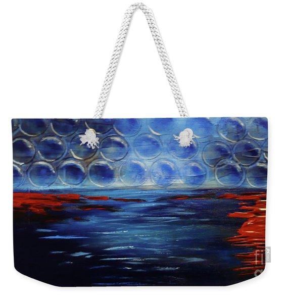 Abstract22 Weekender Tote Bag