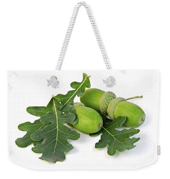 Acorns With Oak Leaves Weekender Tote Bag