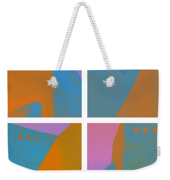 Adobe Walls Four-up Weekender Tote Bag