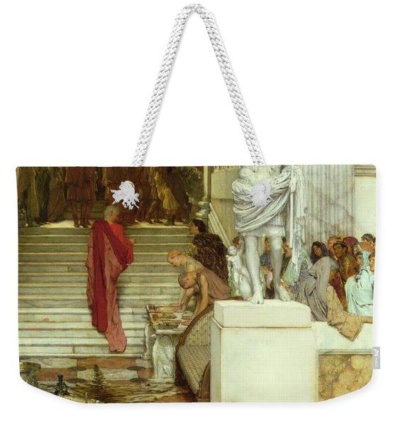 After The Audience Weekender Tote Bag