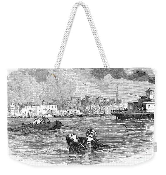 Alger: Ragged Dick Weekender Tote Bag