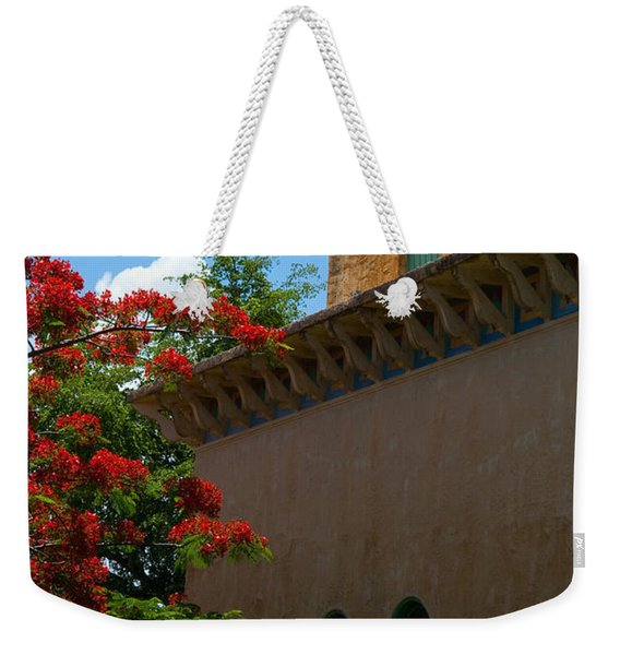 Alhambra Water Tower Windows And Door Weekender Tote Bag