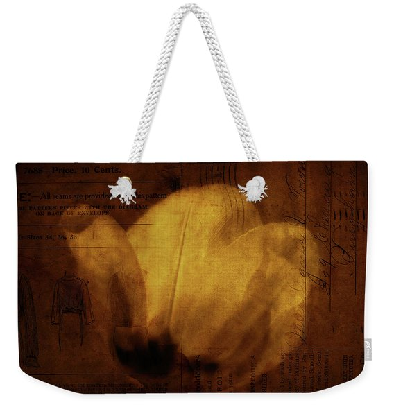 All Seems Provided For Weekender Tote Bag