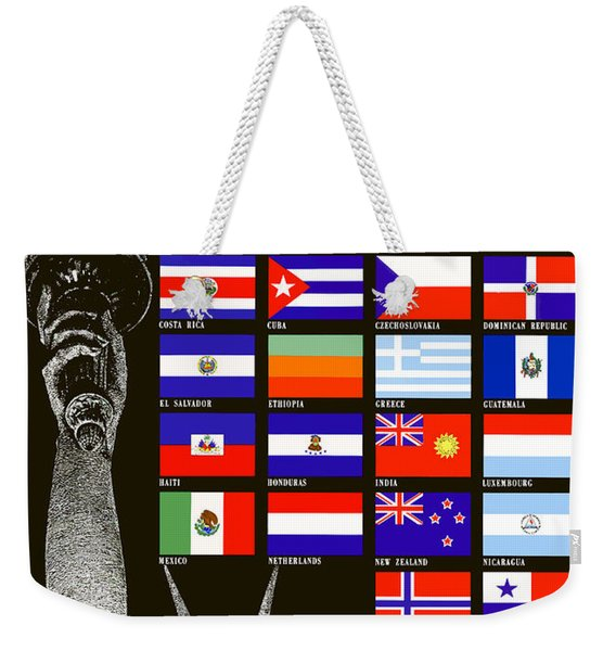 Allied Nations Fight For Freedom Weekender Tote Bag