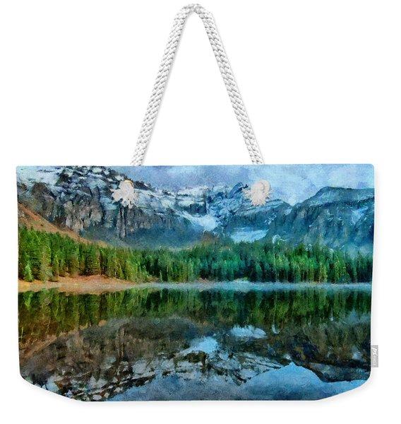 Alta Lakes Reflection Weekender Tote Bag