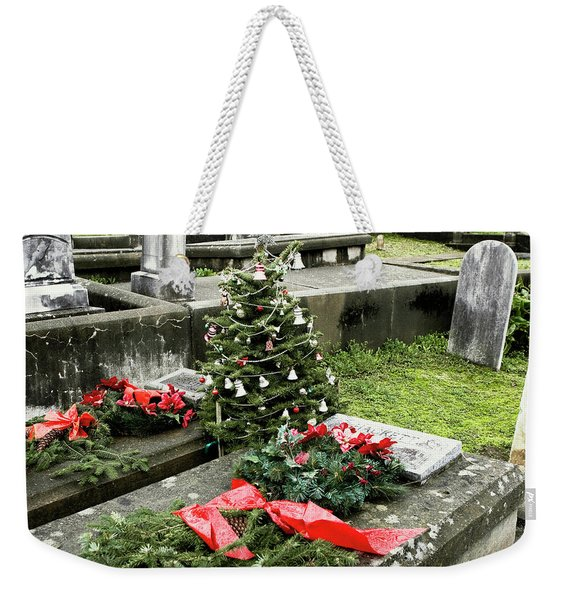 Weekender Tote Bag featuring the photograph Always Home For Christmas by Lorraine Devon Wilke