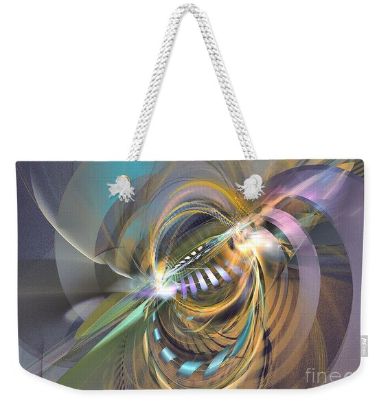 Amadeus - Abstract Art Weekender Tote Bag