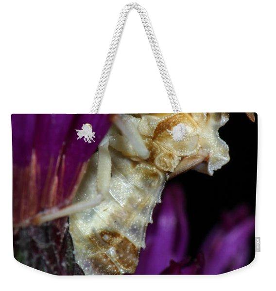 Ambush Bug On Ironweed Weekender Tote Bag