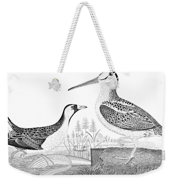 American Ornithology Weekender Tote Bag