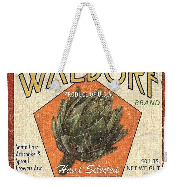 Americana Veggies Weekender Tote Bag