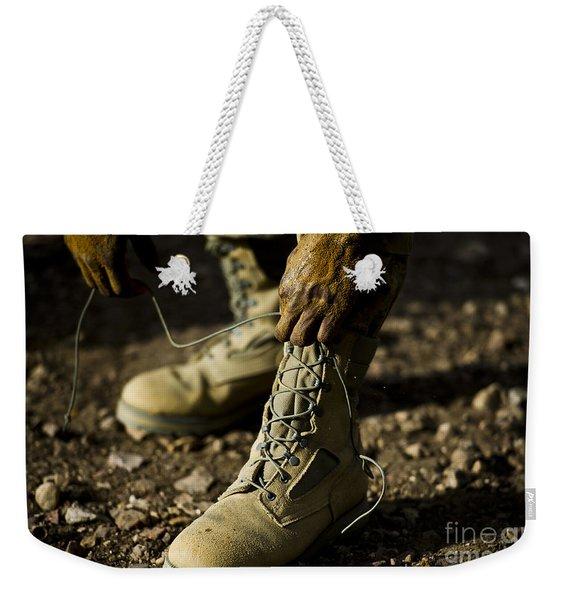 An Air Force Basic Military Training Weekender Tote Bag
