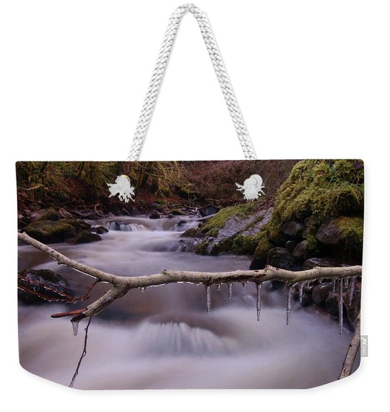 An Icy Flow Weekender Tote Bag