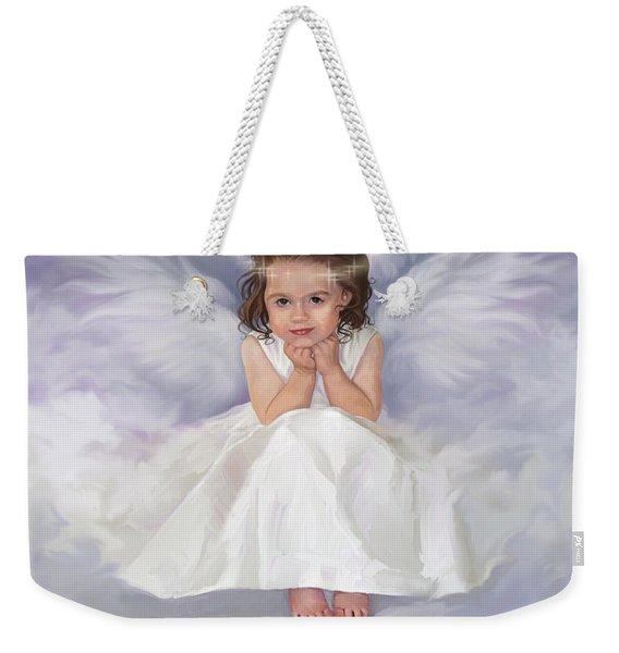 Angel 2 Weekender Tote Bag
