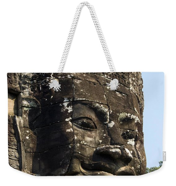 Angkor Thom Fae Weekender Tote Bag