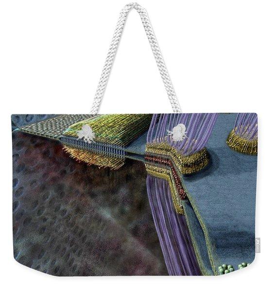 Animal Cell Junctions Weekender Tote Bag