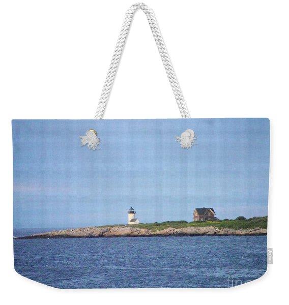 Annisquam Harbor Lighthouse Weekender Tote Bag