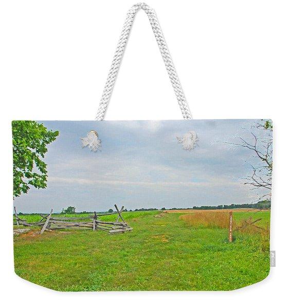 Antietam Battle Of The Cornfield Weekender Tote Bag