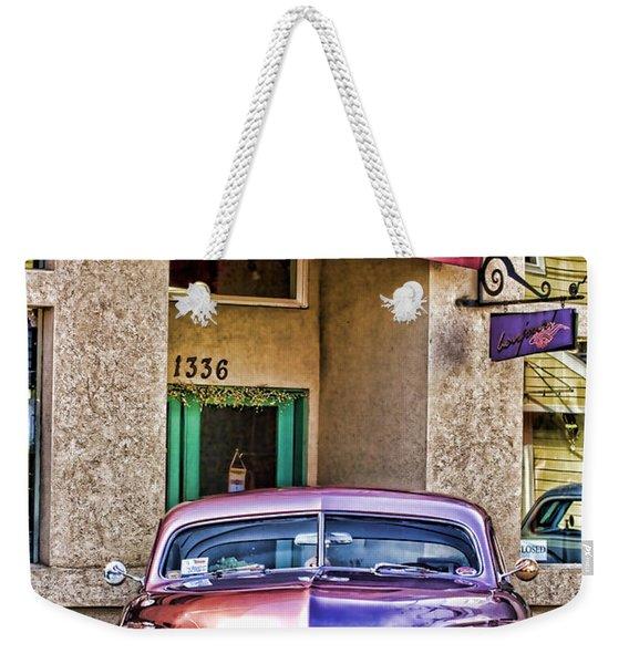 Antique Car Weekender Tote Bag