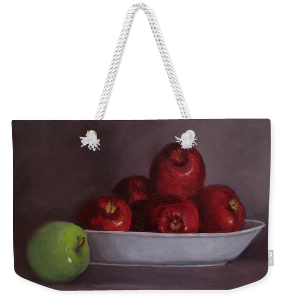 Apples -still Life Weekender Tote Bag