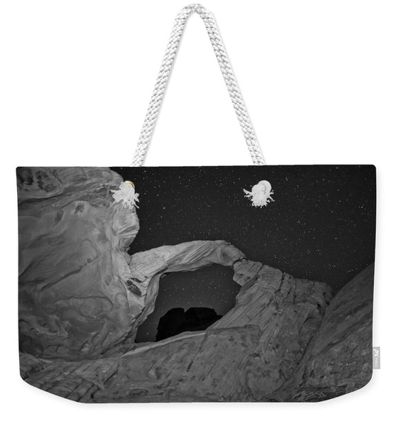 Arch In Valley Of Fire Nevada Weekender Tote Bag