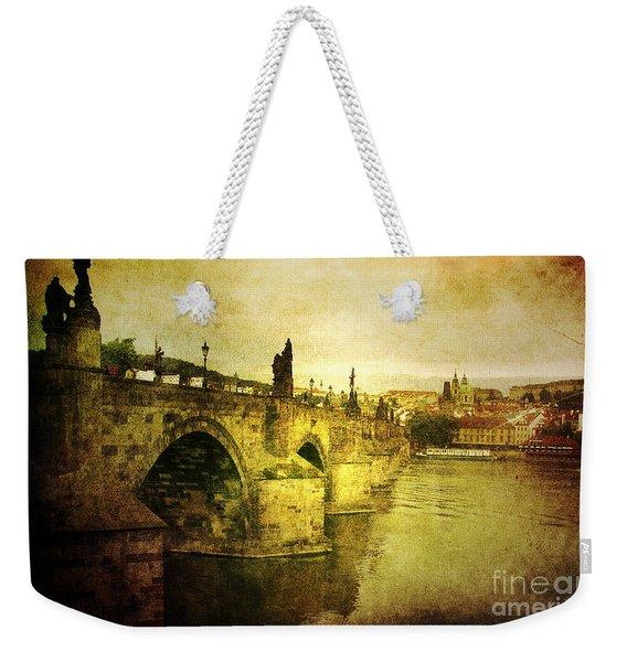 Archaic Charm Weekender Tote Bag