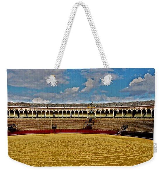 Arena De Toros - Sevilla Weekender Tote Bag