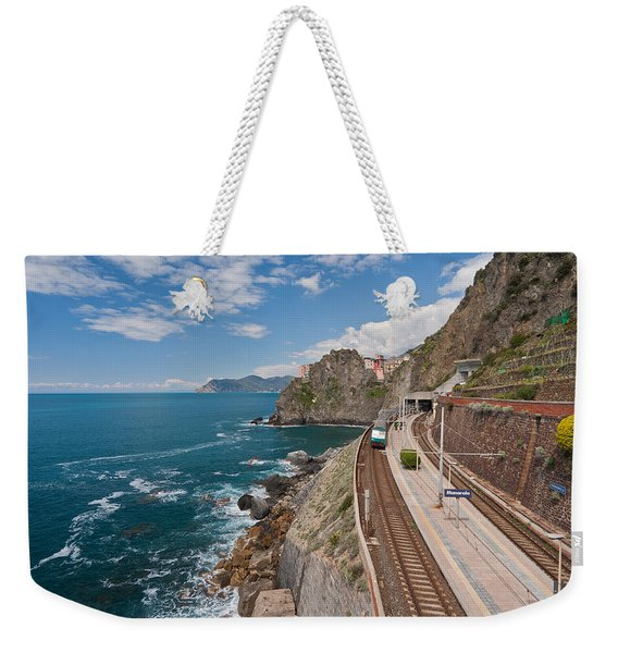 Arriving In Manarola Weekender Tote Bag