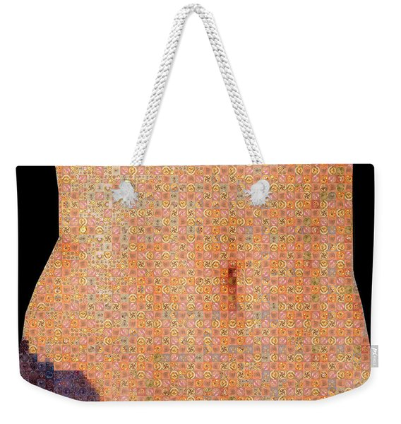 Art In The Middle Weekender Tote Bag