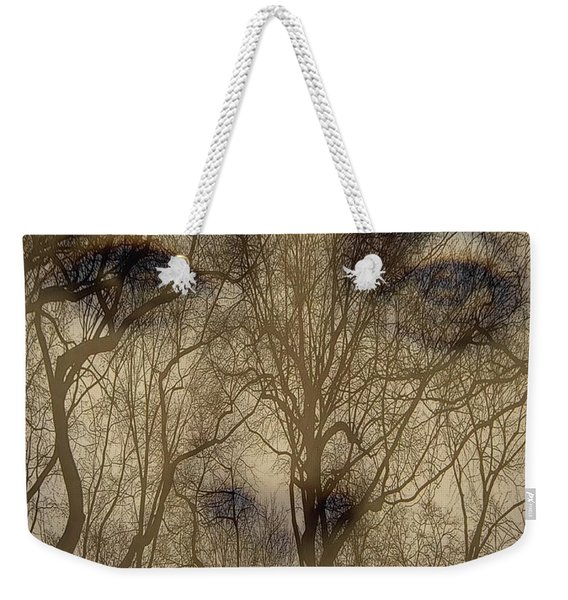 Asphalt - Portrait Of A Lady 2 Weekender Tote Bag